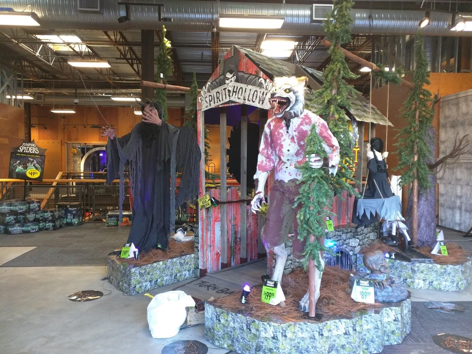 rockville nights: halloween stores face off across rockville pike