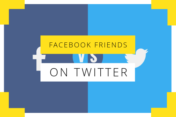 How To Find Friends On Twitter Using Facebook