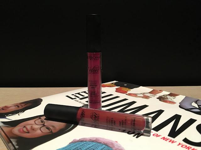 First Impressions: Deborah Milano Fluid Velvet Mat Lipstick in
