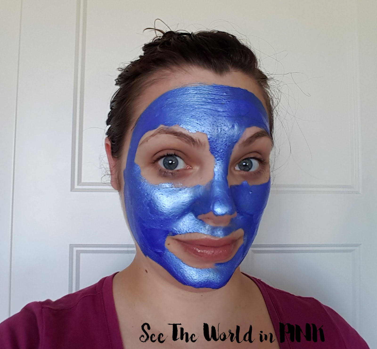 "Mask Wednesday - Glamglow Gravitymud Firming Treatment ""Sonic Blue Collectible Edition"" Review"