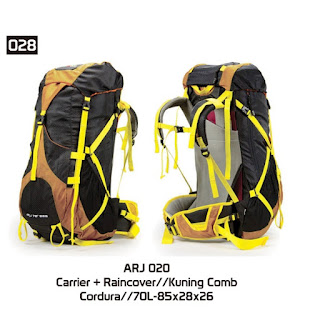 ARJ 020 | 70L-85x28x26 |  KUNING COMB | CORDURA