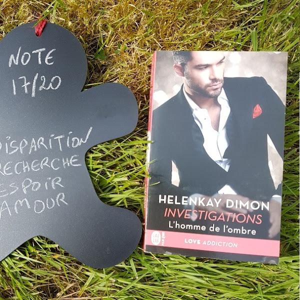 Investigations, tome 1 : L'homme de l'ombre de HelenKay Dimon