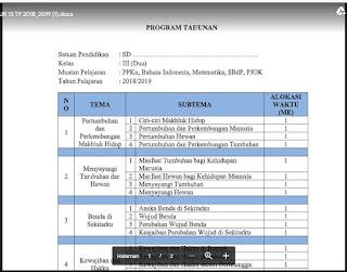 Program Tahunan PAI dan Budi Pekerti SMP Kelas VII (7) Semester 1 dan 2 - http://www.librarypendidikan.com/