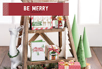 Look more closely at the Be Merry Product Suite by Stampin' Up!