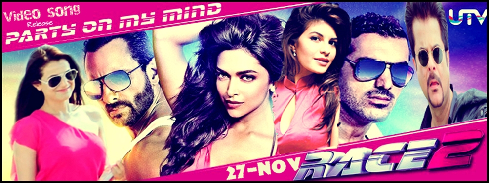 Race2 'Party on my Mind' Video Song release on 27th Nov ...