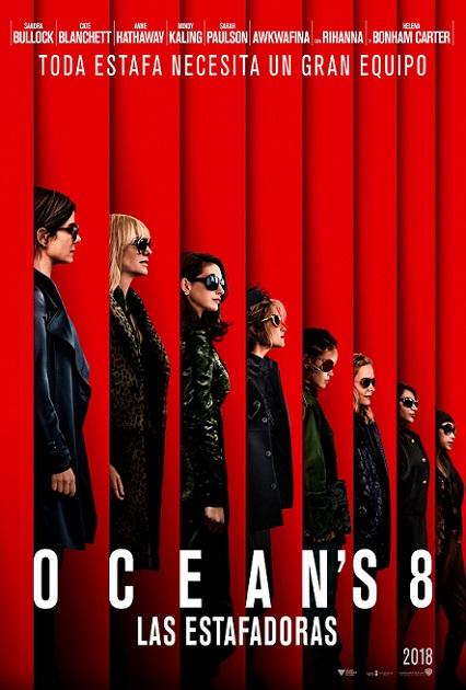 Ocean's 8: Las Estafadoras (2018) 720p y 1080p WEBRip mkv Dual Audio AC3 5.1 ch