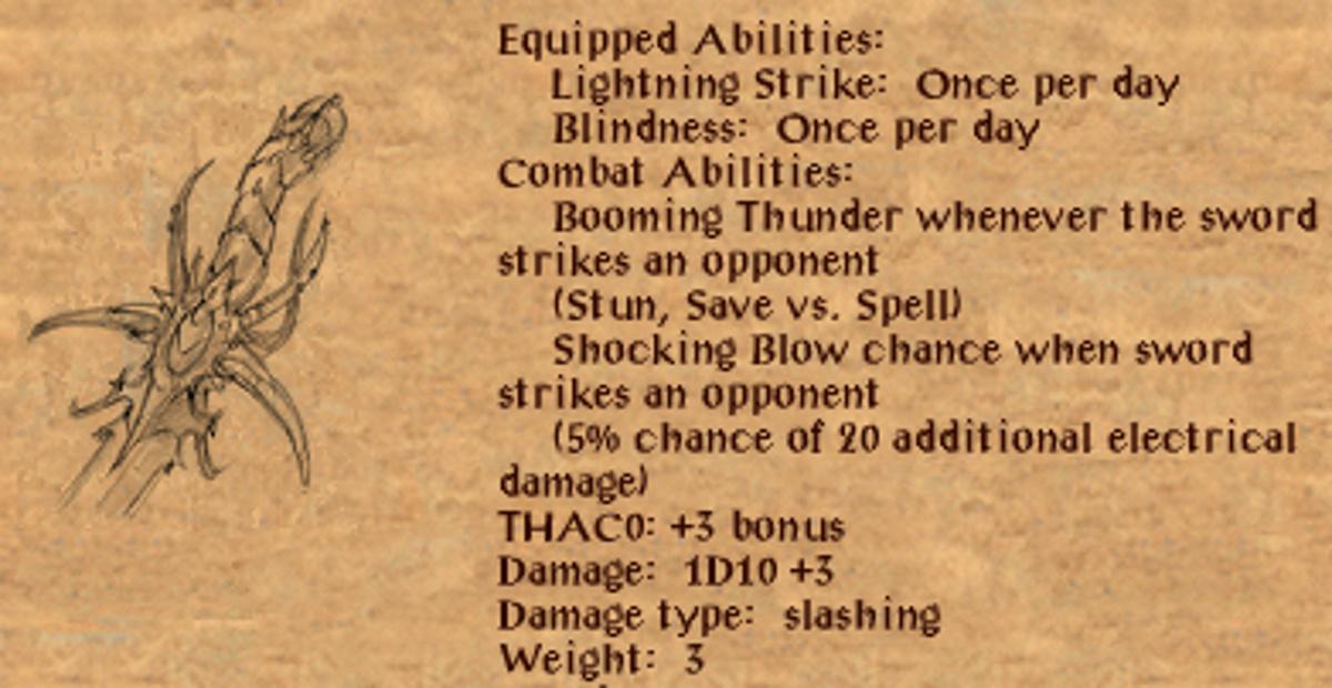 The Lore Mechanic in Baldur's Gate (Bardic lore + Intelligence +