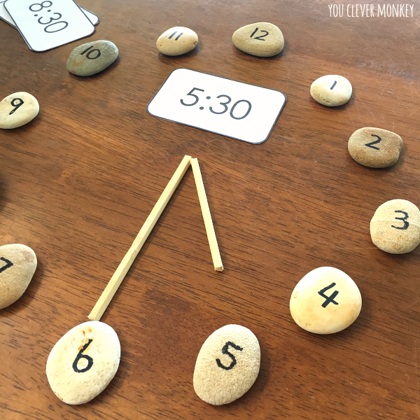How to Teach Children to Tell Time - teaching ideas and printable resources to use when teaching time to young children. Includes  editable clock face cards perfect for use with our visual timetable cards   you clever monkey