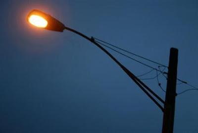 Street light at labdah gumba area
