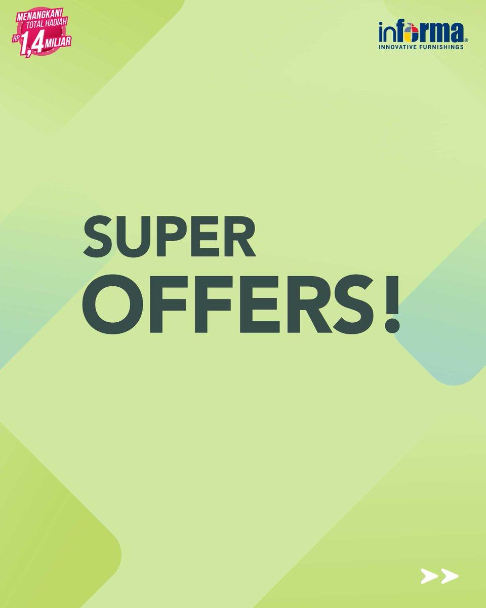 Informa - Promo Super Offers Bedroom Textile & Storage (s.d 31 Okt 2018)
