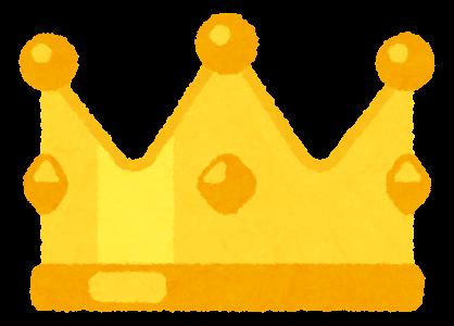 いろいろな王冠のイラスト かわいいフリー素材集 いらすとや