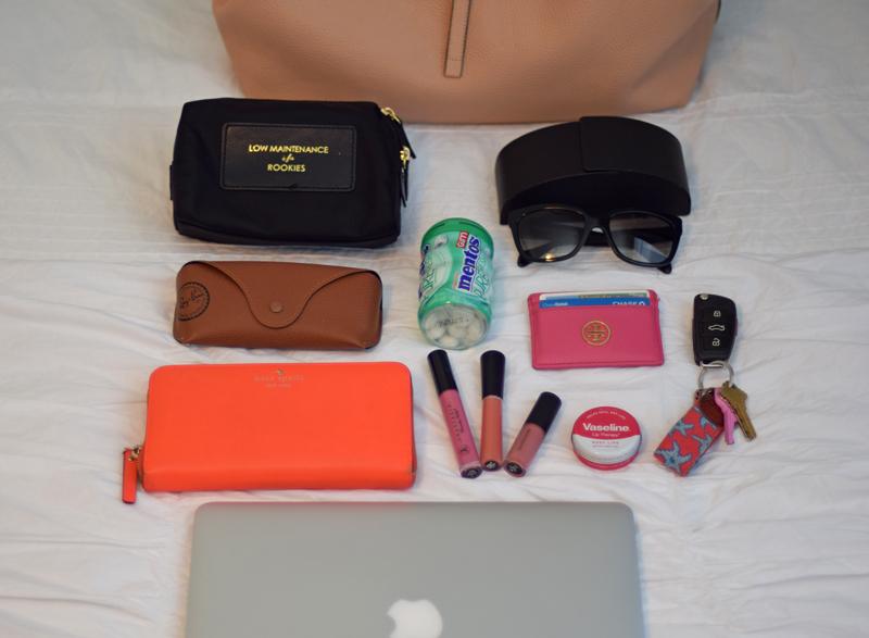 Colorful purse accessories