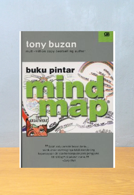 BUKU PINTAR MIND MAP, Tony Buzan