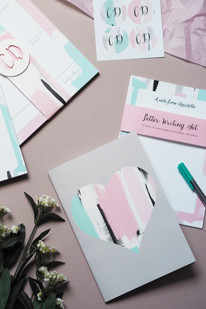 Not On The High Street Summer of Surprise Ella Jane Designs Personalised Stationery | Colours and Carousels - Scottish Lifestyle, Beauty and Fashion blog