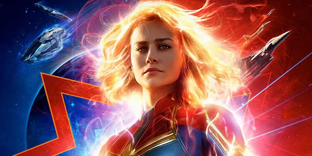 Capitana Marvel, Brie Larson, Tráiler, Los Lunes Seriéfilos