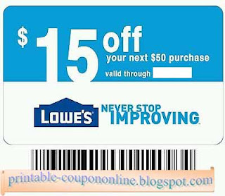 Lowes in store printable coupon 2018