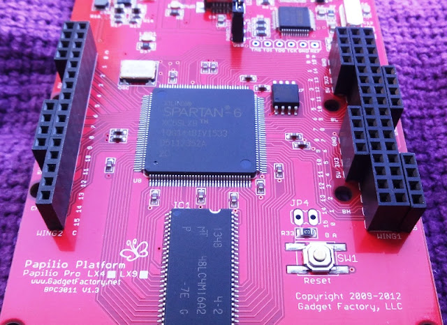 Papilio Pro Low Cost FPGA Open Source Board Arduino