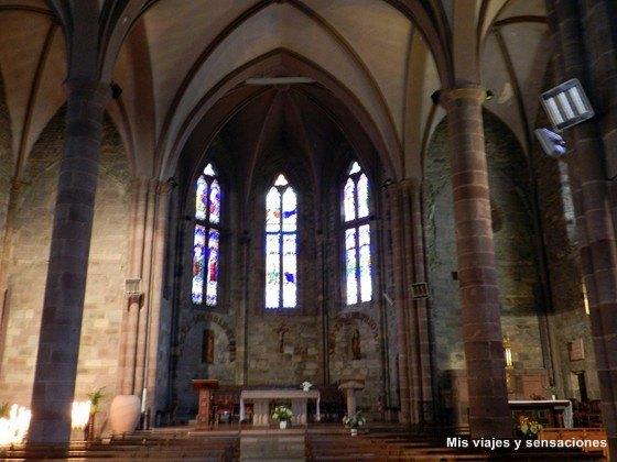 Iglesia de Notre-Dame-du-Bout-du-Pont, Saint Jean Pied de Port, Francia