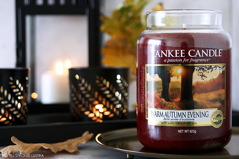 yankee candle warm autumn evening