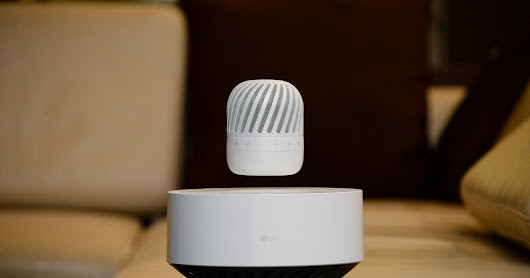 LG'S Levitating Speaker Expected To Mesmerize Audience At CES 2017