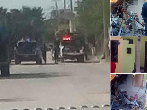 "FUERTES RAFAGAS DE BALAZOS"": Martes de balacera en Reynosa"