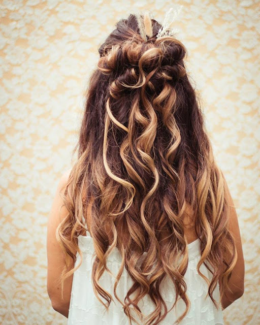 BOHEMIAN BRIDAL HAIRSTYLIST MELBOURNE