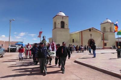 Pfarrkirche von San Pablo de Lipez Bolivien