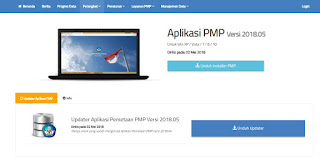 Download Aplikasi Pemetaan PMP 2018.05
