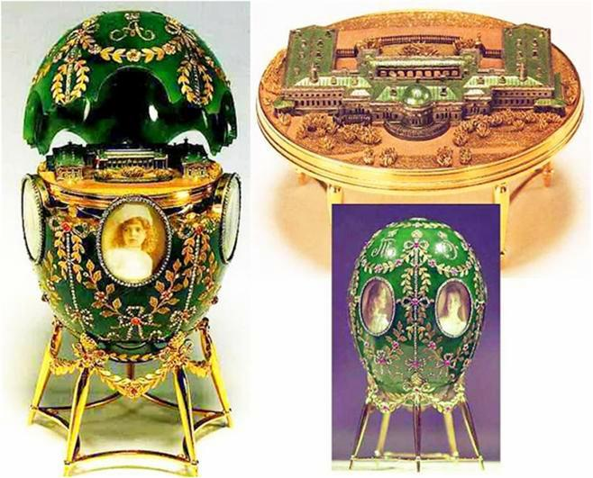 Foto de um Ovo de Fabergé - Palácio