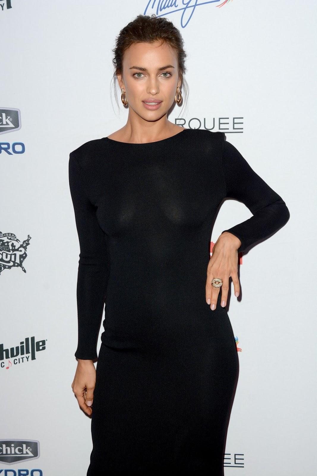 Ronaldo girlfriend Irina Shayk at Sports Illustrated Swimsuit Issue Celebration