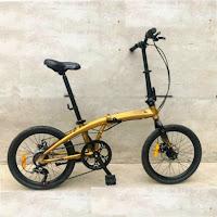 20 element ecosmo folding bike
