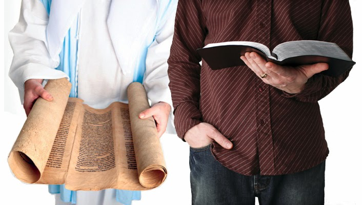 Have you ever heard that the God of the Old and New Testaments is different?  Thoughts at DTTB.