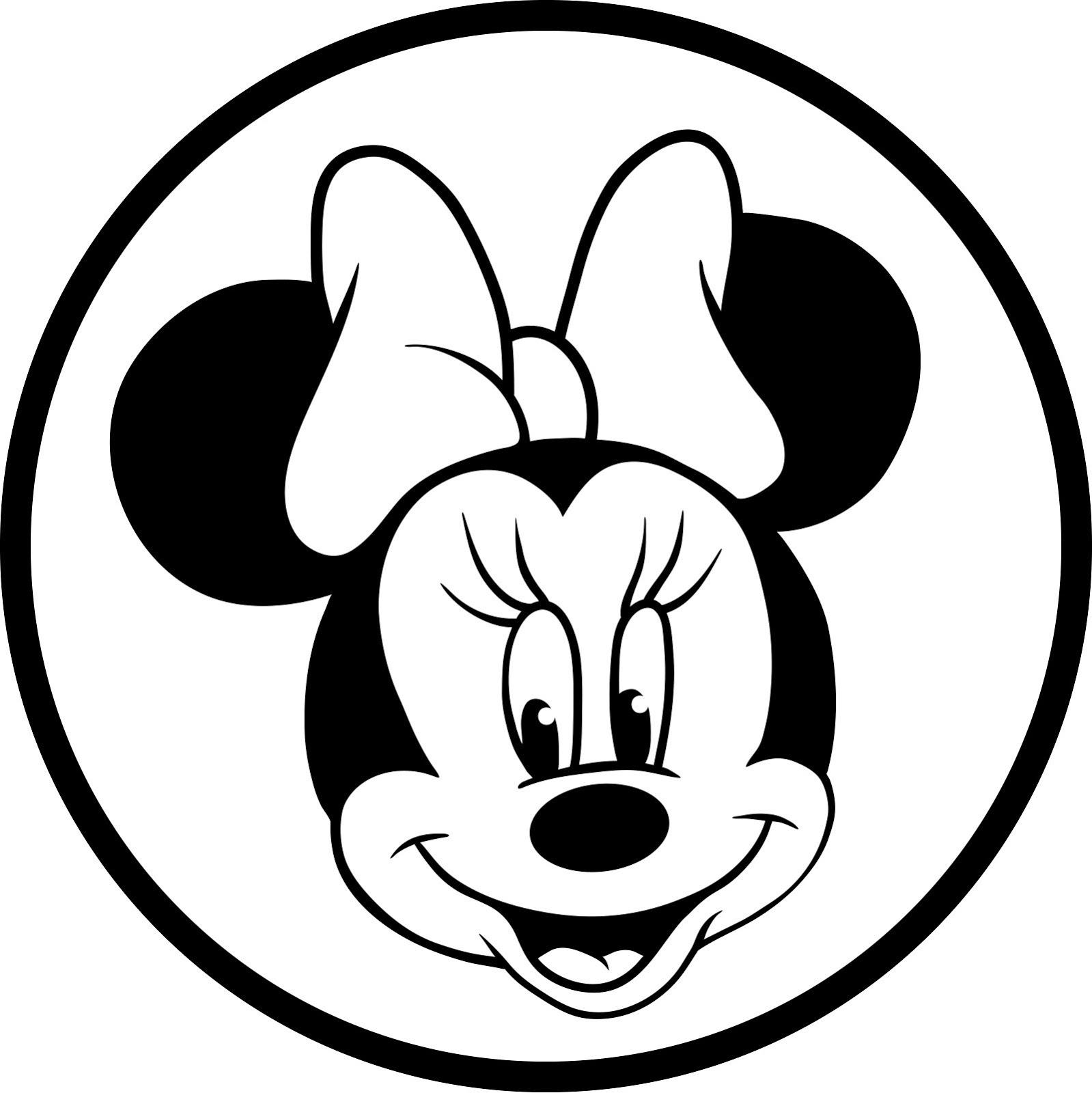 Desenhos para colorir e imprimir desenhos da minnie para - Dessin de mini mouse ...