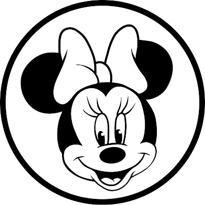 ... para Colorir e Imprimir: Desenhos da Minnie para Colorir e Imprimir