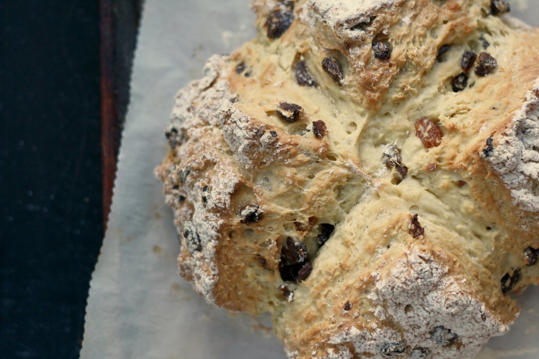 Spotted Dog (Irish Soda Bread w/ Raisins) - All Roads Lead ...