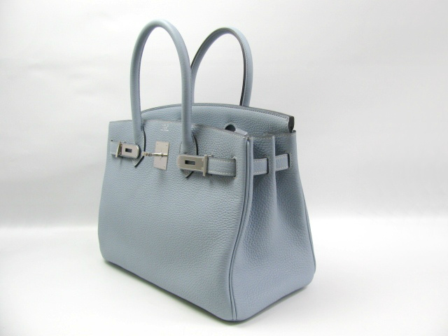 687cf2d060be 2012 New Color- Blue Phosphorus. HERMES BIRKIN BAG