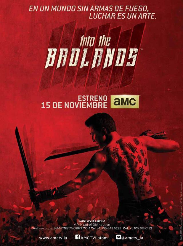 Into the badlands estreno mundial en noviembre por amc for 3 cocinar un huevo sin fuego