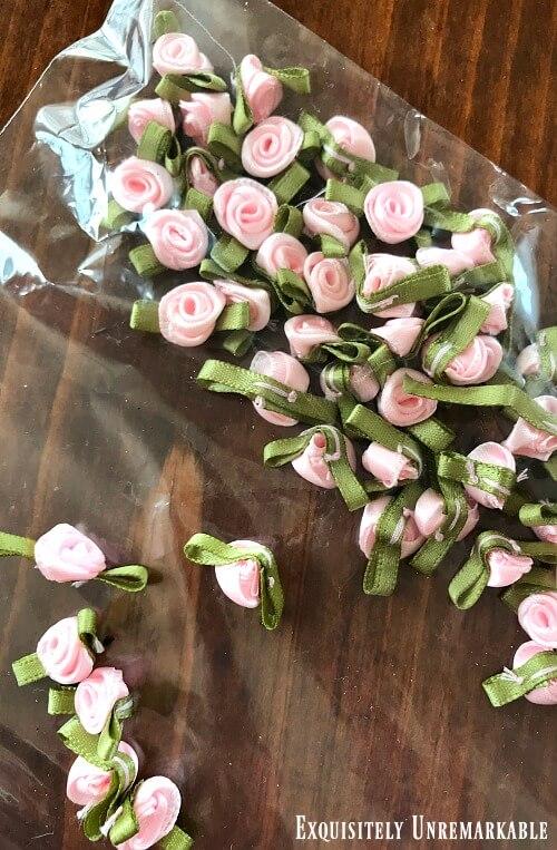 Satin Mini Roses