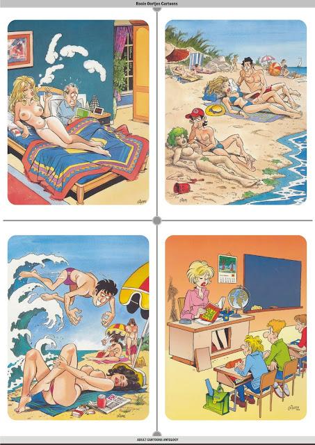 Adult Cartoon Anthology