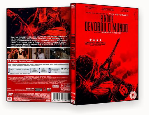 A Noite Devorou O Mundo DVD-R AUTORADO