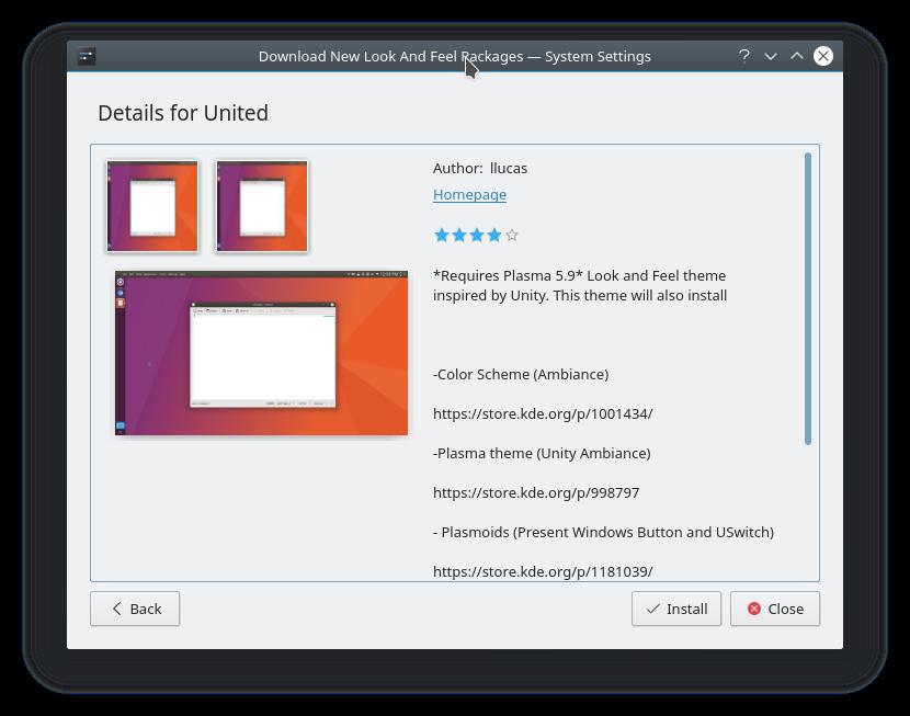 K * Digest!: Easily Install A Unity-Like Theme On KDE Plasma