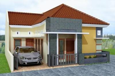 Foto Rumah Minimalis 1 Lantai Modern Terbaru