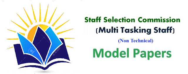 SSC Multitasking (MTS) Model Paper 2019