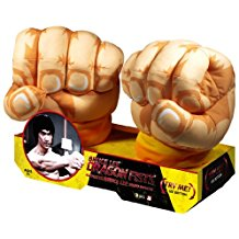 Bruce Lee Motion Activated Dragon Fists Jumbo Plush