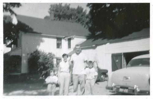 family in 1956