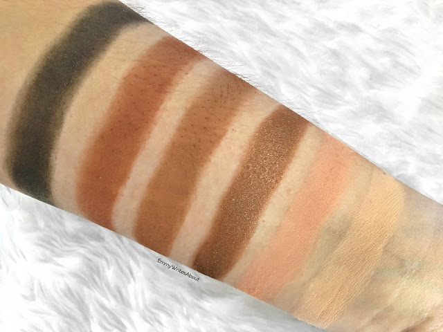 Too Faced Sweet Peach Eyeshadow Palette Swatches