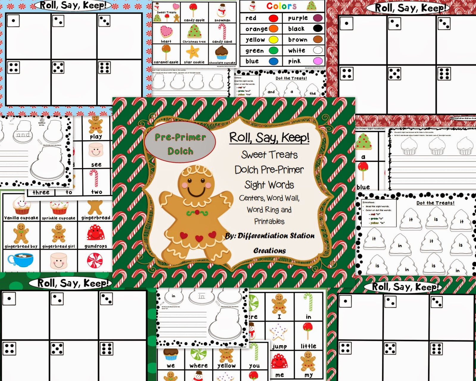 Differentiation Station Creations Christmas In July Sale