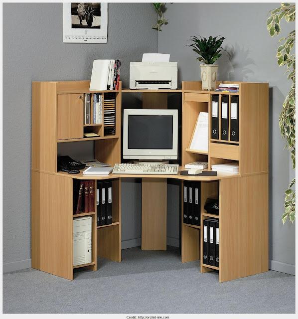 Corner Computer Table Wallpapers
