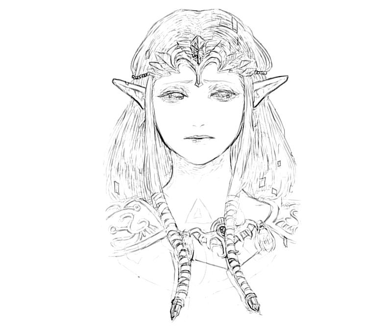 zelda twilight princess coloring pages - photo#10