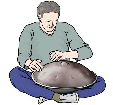 ハング・ドラム hang drum